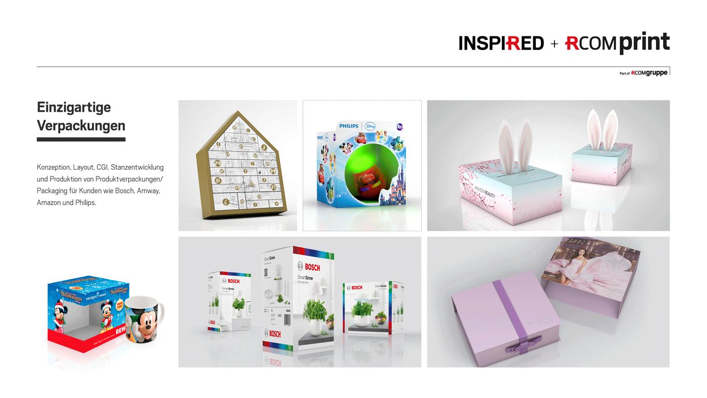 Einzigartige Verpackungen